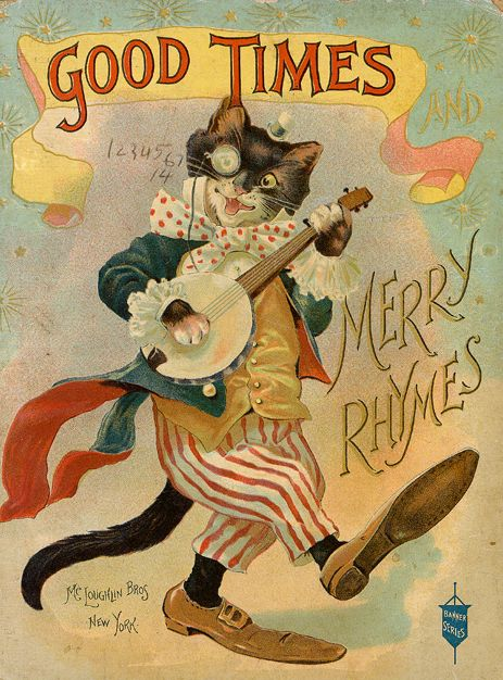 """""""Good times and merry rhymes"""" by Mc Loughlin Bros, New York."""