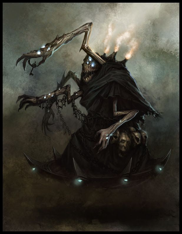 Image result for Cave-dwelling creature fantasy