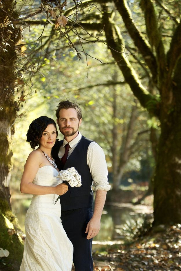 Photos Of Rider Strong And Alexandra Barreto's Wedding