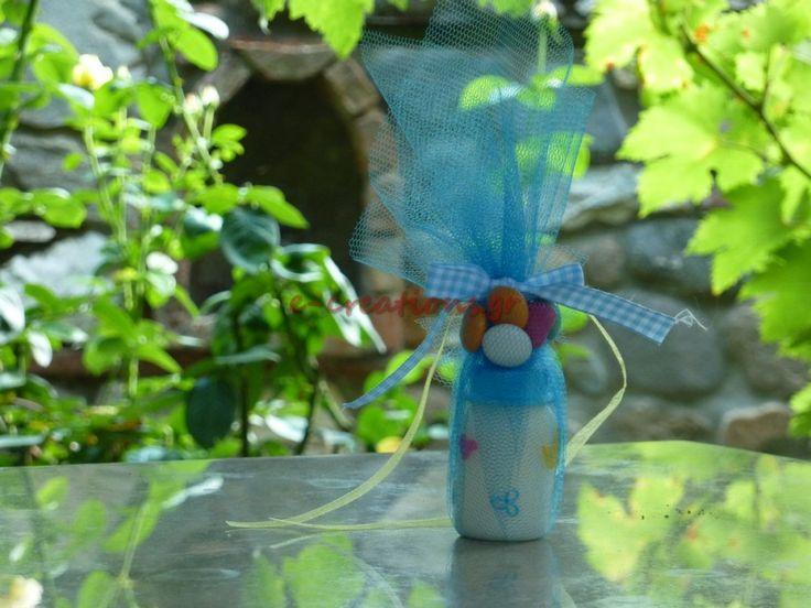 #ΒΑΠΤΙΣΗ ⁞ Μπομπονιέρα.. αρωματικό κερί μπιμπερό!
