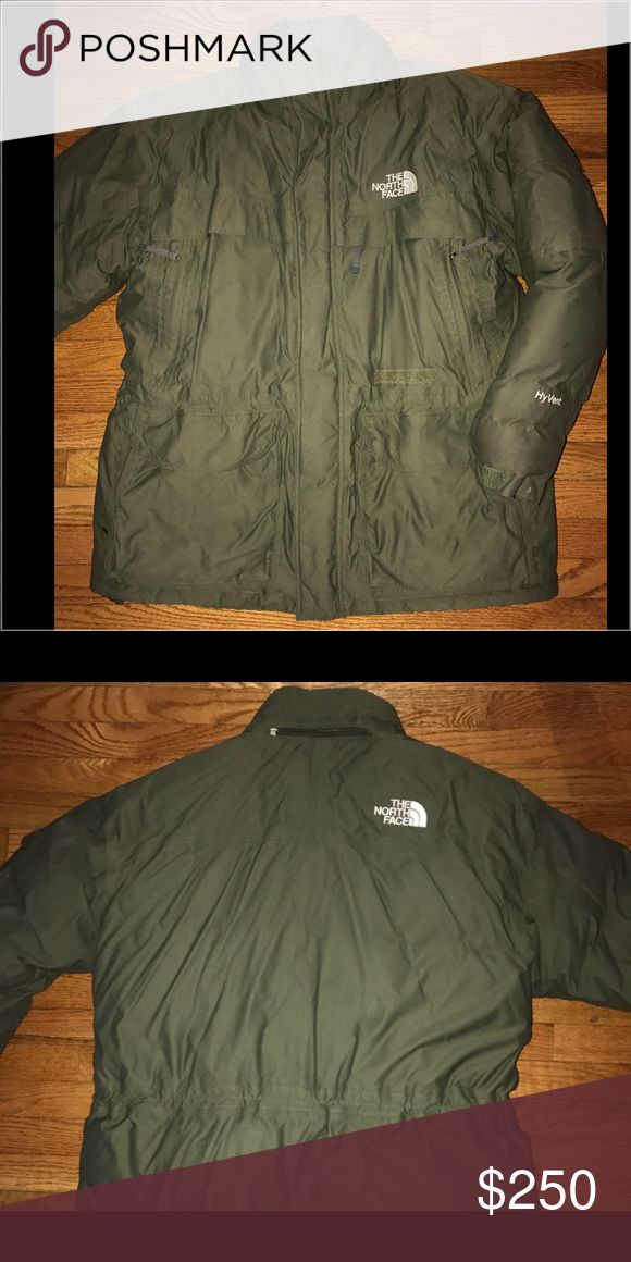 The North Face McMurdo Parka II Thick heavy warm green men's north face coat in sz XL. Hood not included. The North Face Jackets & Coats Puffers