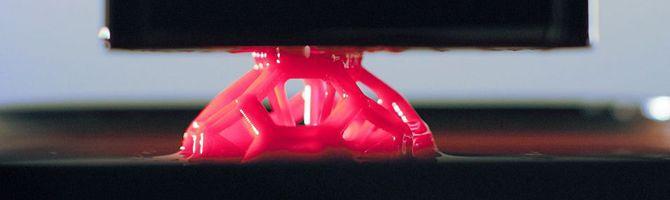 Bizion > 신기술 > 프린팅 속도가 100배나 빠른 초고속 3D 프린터 '클립'