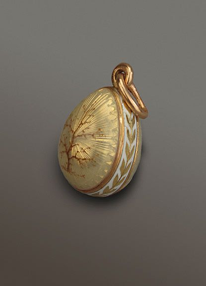 458 best eggs pendants images on pinterest faberge eggs egg art faberge miniature egg pendant workmaster michael perchin circa in light yellow enamel over painted with sepia dendritic tendrils en camaeu aloadofball Images