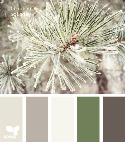 : Design Seeds, Frosted Holiday, Color Schemes, Winter Wedding, Living Room, Color Palette, Colour Palette