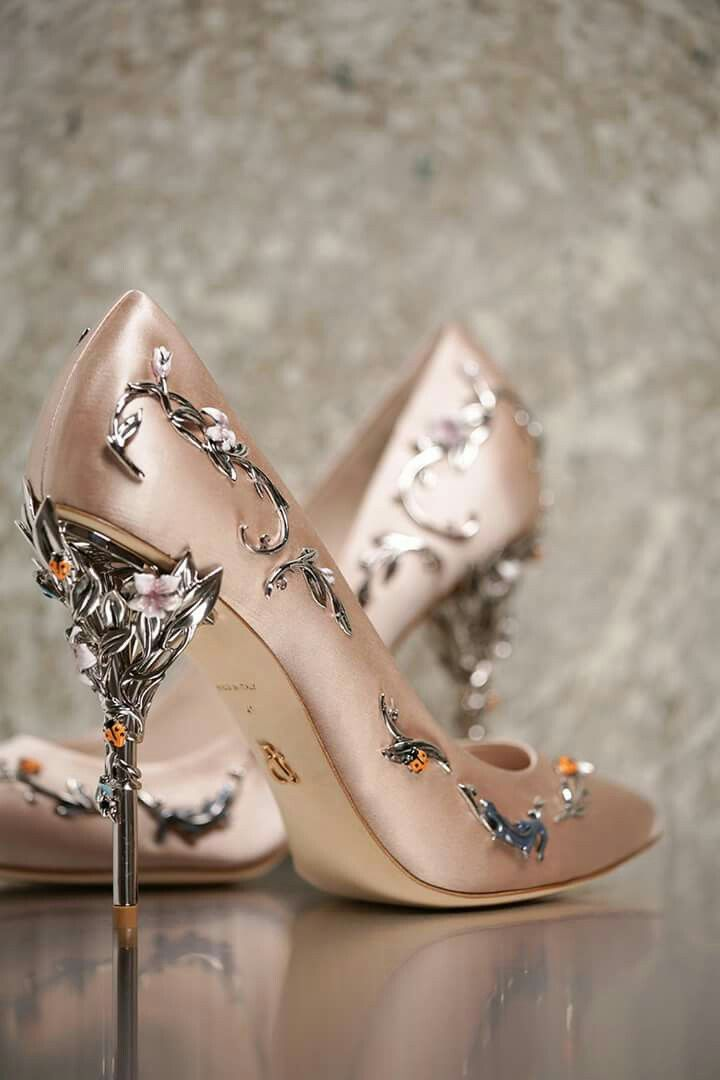 #rosegold #silver #shoes