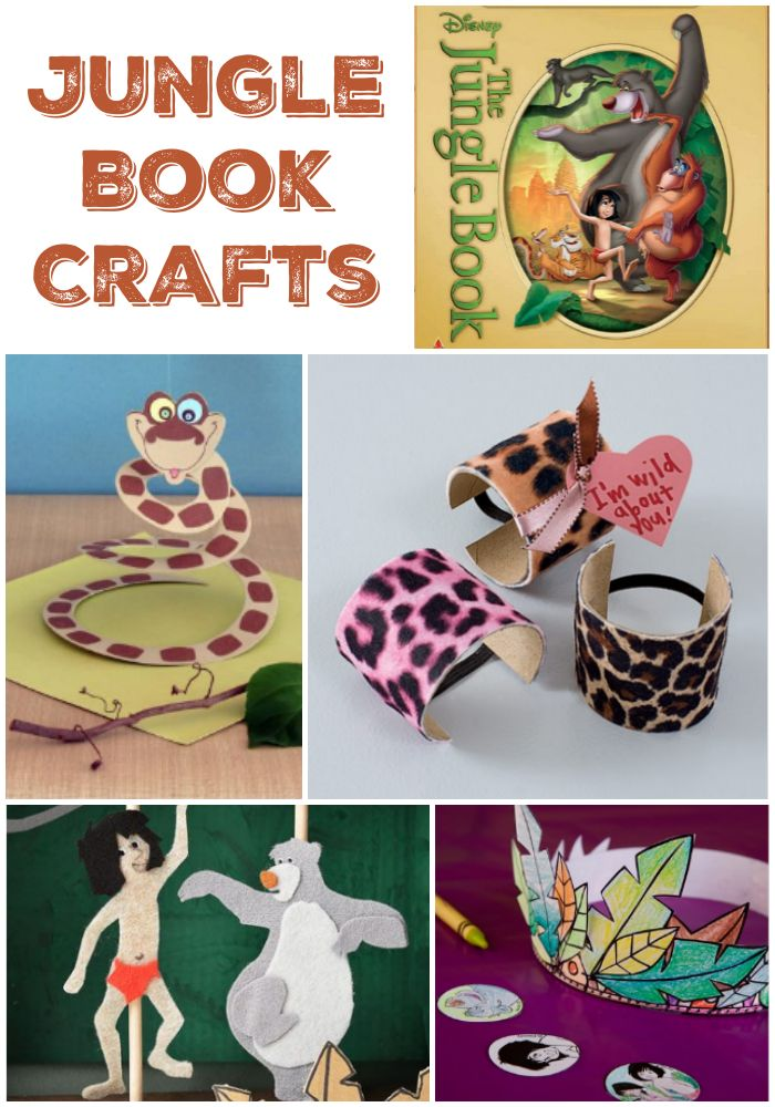5 The Jungle Book Crafts & Bare Necessities Craft Supplies