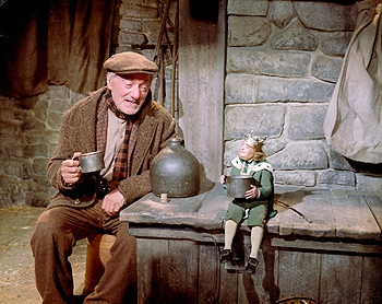 Darby O'Gill and the Little People: Midgets, Leprechauns, and young Sean Connery.  YES.