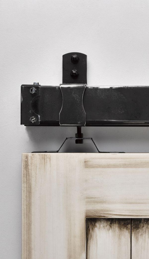 Sliding Door Tracks Hanging Barn Hardware Styles Like Ceiling Mount Flat Track Box J In Custom Colors