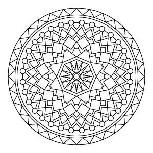 Mandalas para imprimir y colorear - La Guía de Mandalas