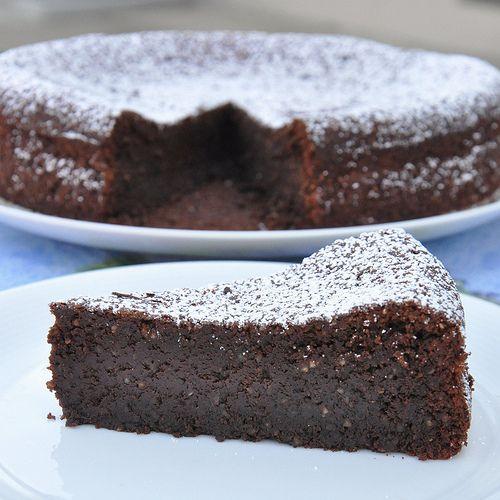 Flourless Chocolate Cake from the Isle of Capri