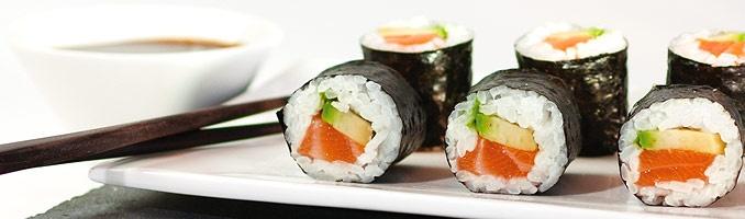 Getting some tasty sushi mmmhhh