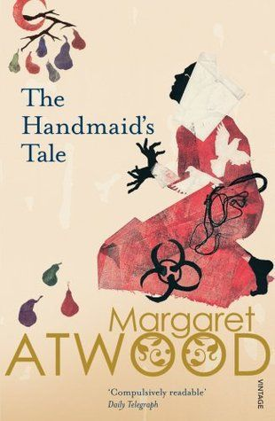 "Margaret Atwood ""The Handmaid's Tale"". This is a beautiful cover for one of the most intriguing and mysterious books I've ever read."