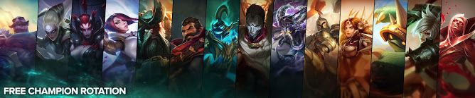 nice Free Champion Rotation, Week of September 19th