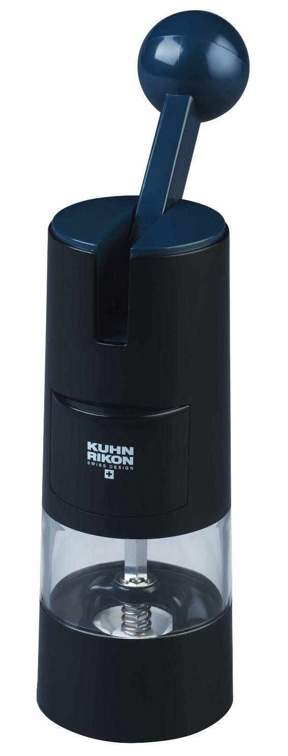NEW KUHN RIKON RATCHET GRINDER Spice Salt Pepper Peppercorn Mill BLACK OR WHITE