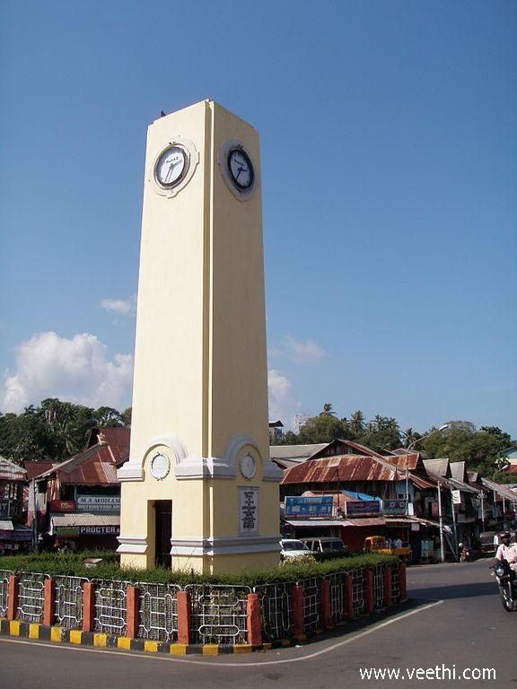 The Clock Tower of Port Blair