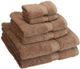Superior 900 Gram Egyptian Cotton 6-Piece Towel Set, Latte