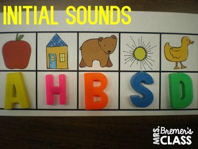 Jardín de infancia las ideas de centros de alfabetización y actividades de una gran cantidad de aprendizaje práctico!