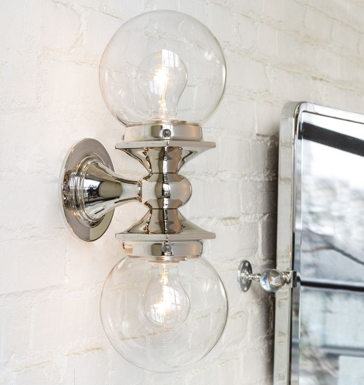 pittock double sconce - Double Sconce Bathroom Lighting