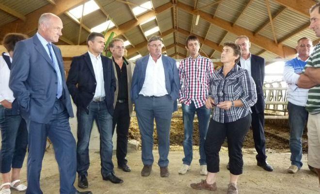 Alain Rousset répond présent à l'invitation du syndicat agricole de la FRSEA