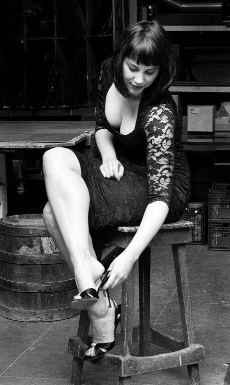 No.30, Shoes: Jimmy Choo, Dress: asos Photographer: Carla Coulson, Model: Miss Pirisi, Location: Paris atelier 6eme