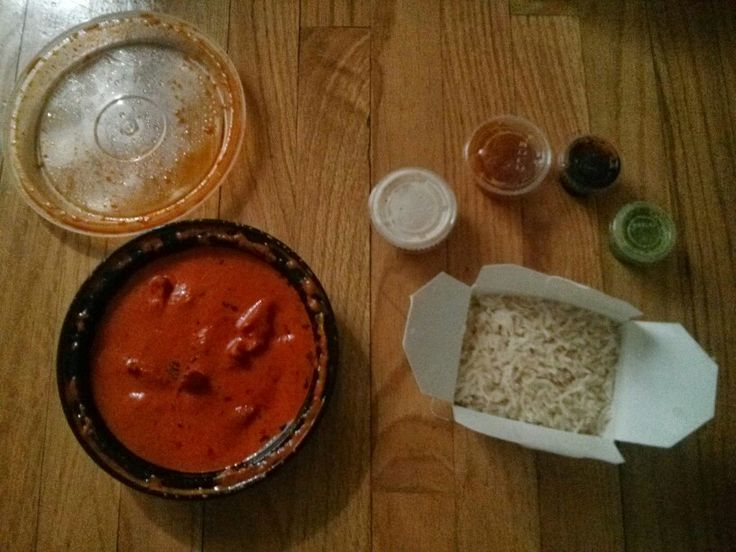 Chicken Tikka Masala from Rangoli Indian restaurant in Manhattan NY