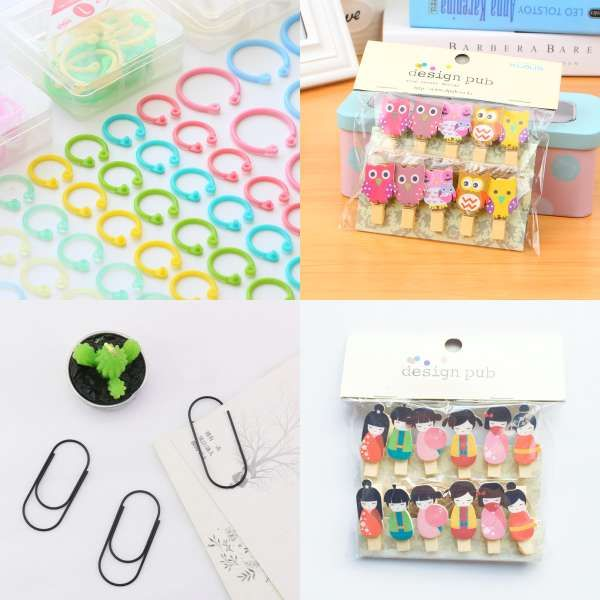 Office & School Supplies Colorful Metal Paper Photo Card Clips Binder Clip For Photo Message Ticket File Office School Supplies Clips Stationery