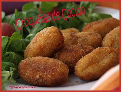 Esta receta de croquetas de cocido es perfecta para aprovechar bien las sobras y no tirar nada. Además se pueden congelar. ¡Descubre la receta!