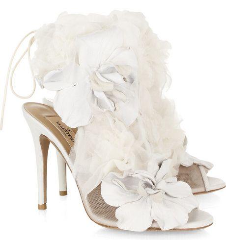 SHOES!Mesh Sandals, Valentino Leather, Fashion, Style, Wedding Shoes, White, Weddingshoes, Heels, Bridal Shoes