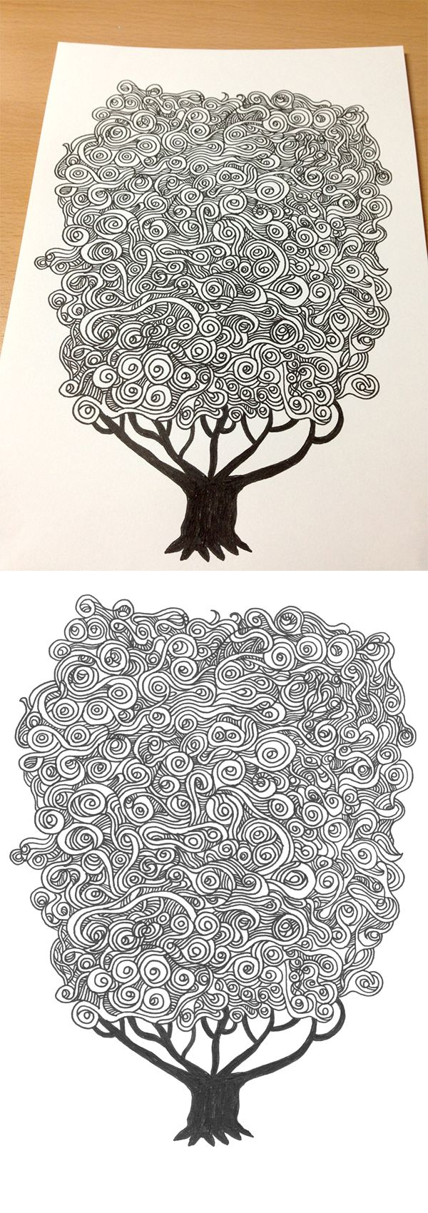 Cloud Tree on Behance