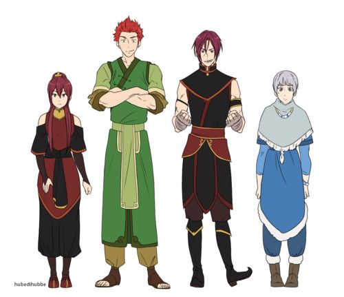 Free! ~~ Avatar style cosplay.