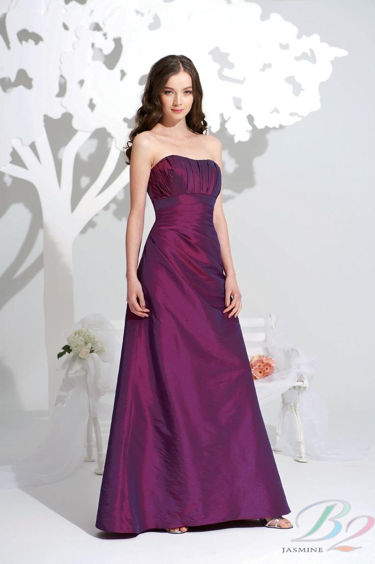 Vistoso B2 Vestidos De Dama De Honor Jazmín Ideas Ornamento ...