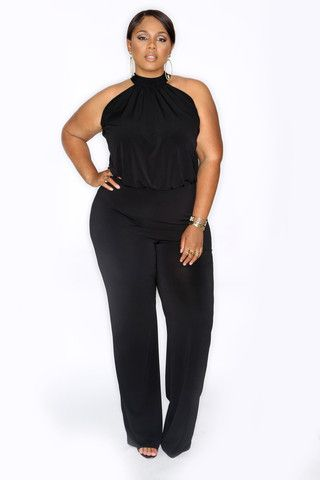 17 Best Images About Jumpsuits For The Curvy On Pinterest