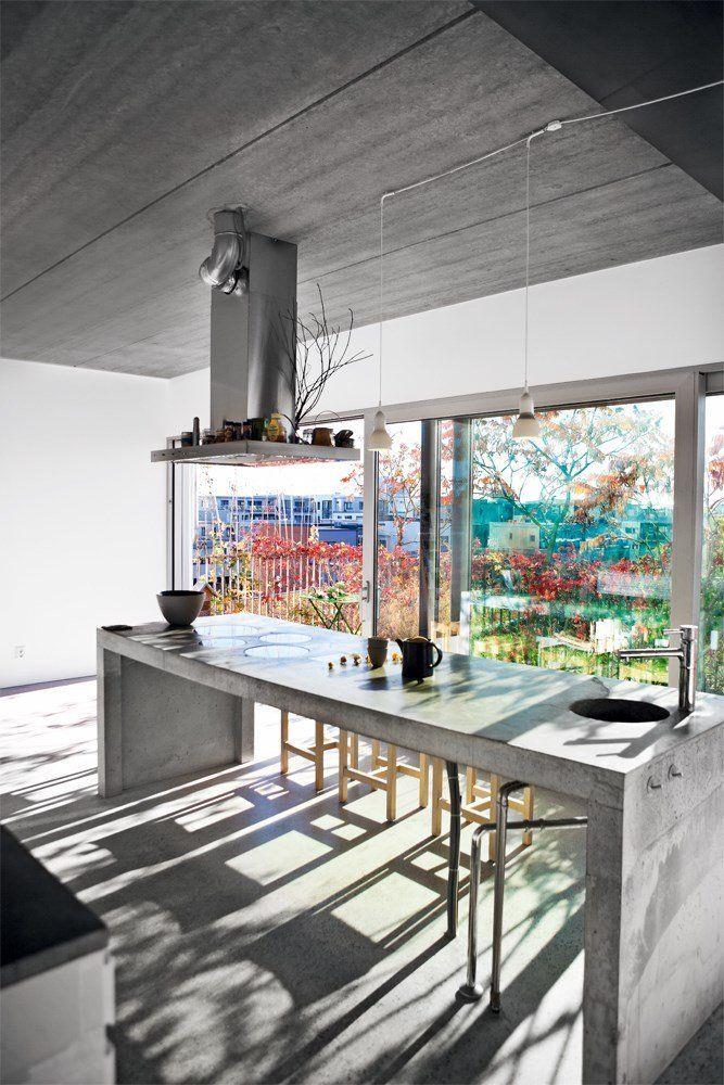 Hormigon-cemento pulido cocina bobedre.dk