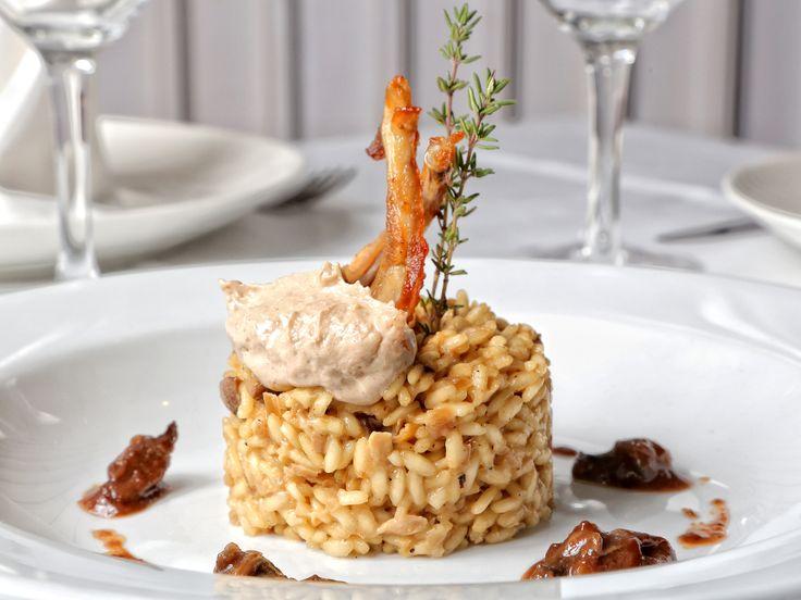 Restaurante Antonio Zaragoza Rissoto de conejo, caracoles y trufa de Restaurante Antonio.
