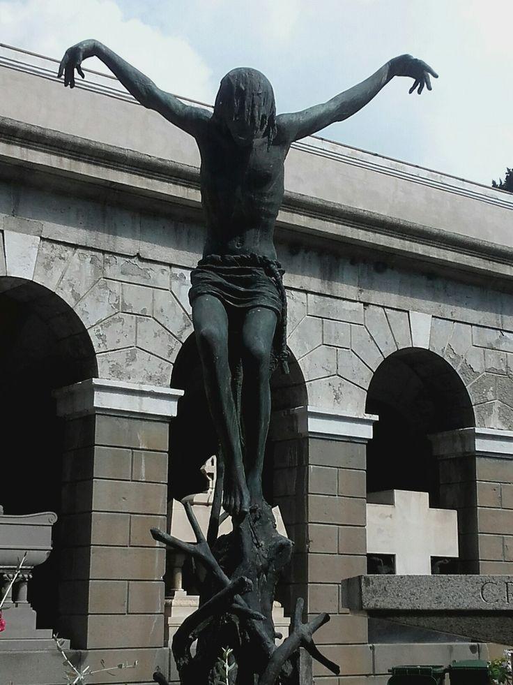 Gesù Cristo. Cimitero Monumentale di Staglieno Genova.