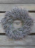 Instructions on how to make a lavender wreath