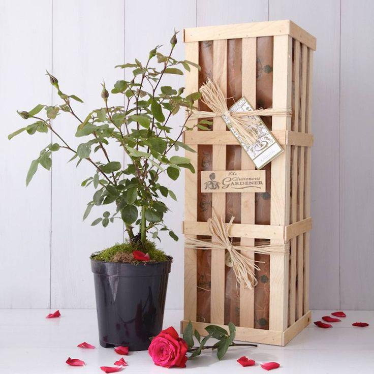 ruby wedding anniversary gift by the gluttonous gardener | notonthehighstreet.com