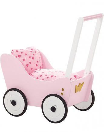 Puppenwagen PRINZESSIN LEA in rosa