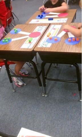 Number Bond - great way to do hands-on addition and subtraction