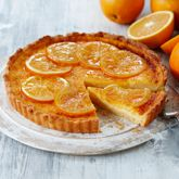 Orange Curd Tart - Coles Recipes & Cooking