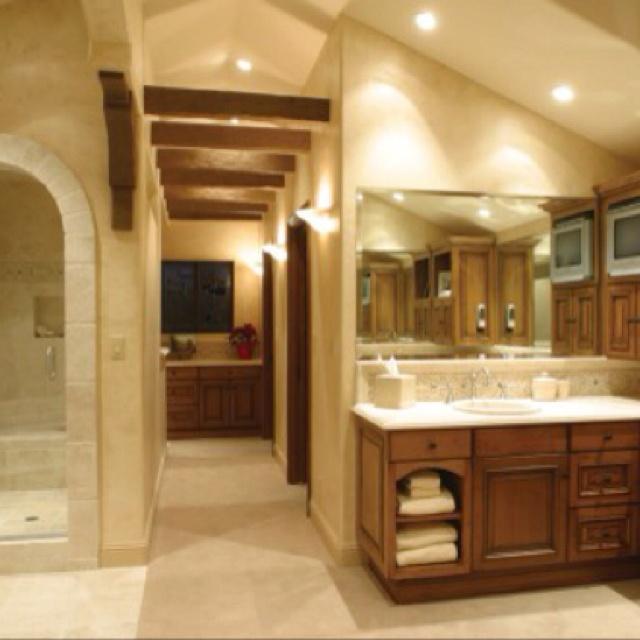 chick residence mediterranean bathroom los angeles by hartmanbaldwin designbuild - Mediterranean Bathroom Design