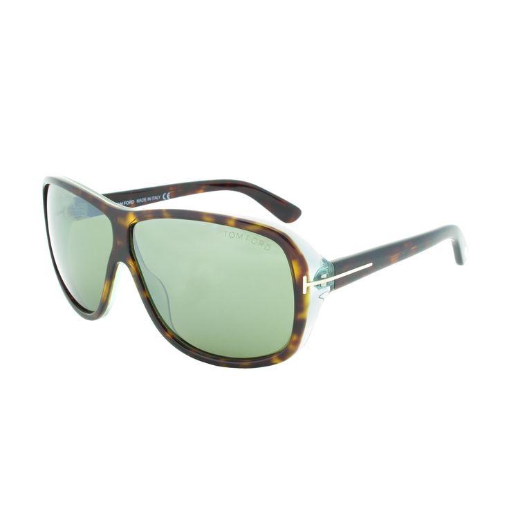 Tom Ford Men's TF0242 Blake Rectangular Sunglasses