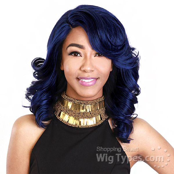 Zury Sis Synthetic Hair Swiss Lace Pre Tweezed Part Wig - SW-LACE H LU [11180]