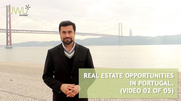 Oportunidades de investimento em Portugal - Porquê investir em Portugal? (Vídeo 02 de 05) - http://bit.ly/1GAJ1sM  No vídeo anterior(http://bit.ly/1DYxeGS) começámos por analisar as vantagens de escolher Portugal como um país para se investir. Esta semana mostramos-lhe o porquê do investimento imobiliário em Portugal ser uma escolha acertada.  Se tiver alguma dúvida sobre este assunto, não hesite em nos contactar(comercial@uwu.pt).   - Visite-nos em http://www.uwu.pt