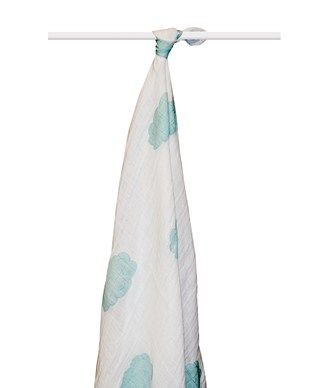 SWADDLE IN COT.ORGANICO SKY BLUE - ADEN+ANAIS - Kiddy Kabane