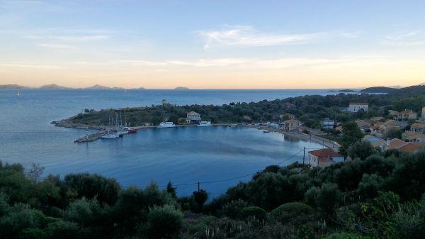 The tiny island of Kastos, close to Lefkada