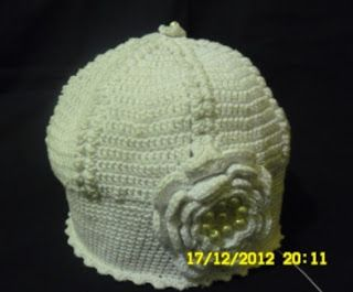 Moje asylium: Jesienno - wiosenna czapeczka