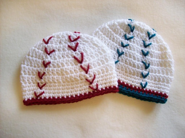 17 Best images about CROCHET SPORTS =BASEBALL=HATS=ETC on ...