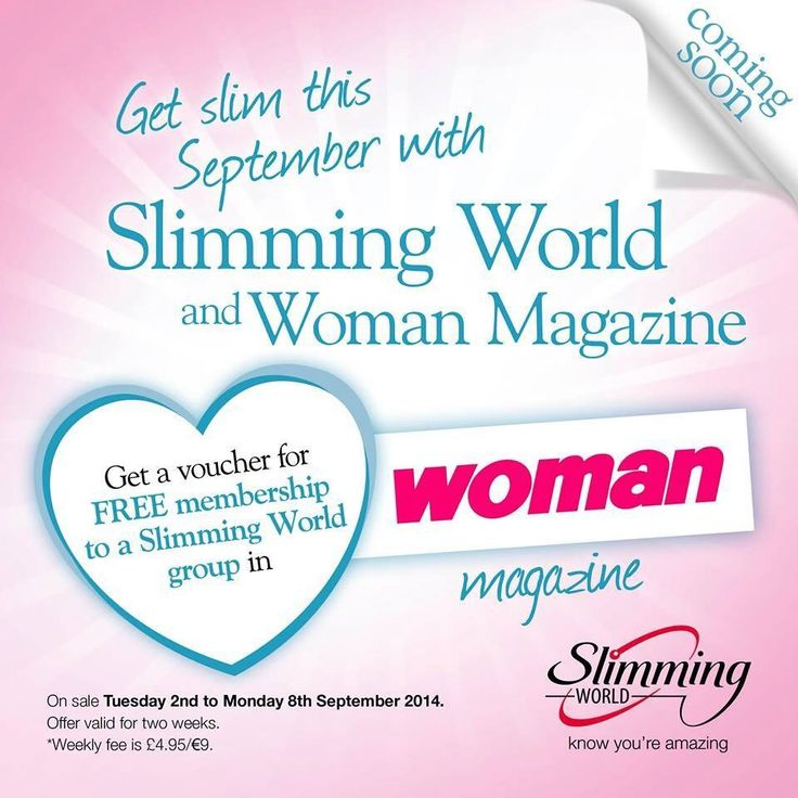 Come join Slimming World !