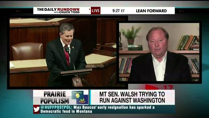 Fmr MT Gov. Schweitzer (D): Walsh Would Lose Election If Held Today, May...